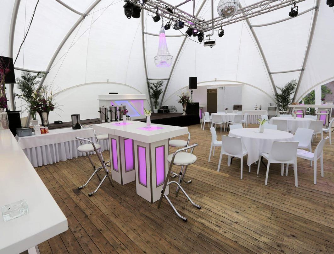 Hexadome Tent - reception