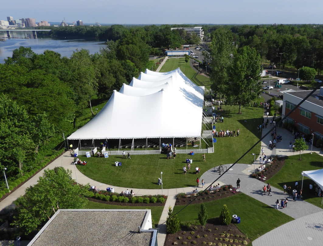 Fiesta Tent - Goodwin College commencement