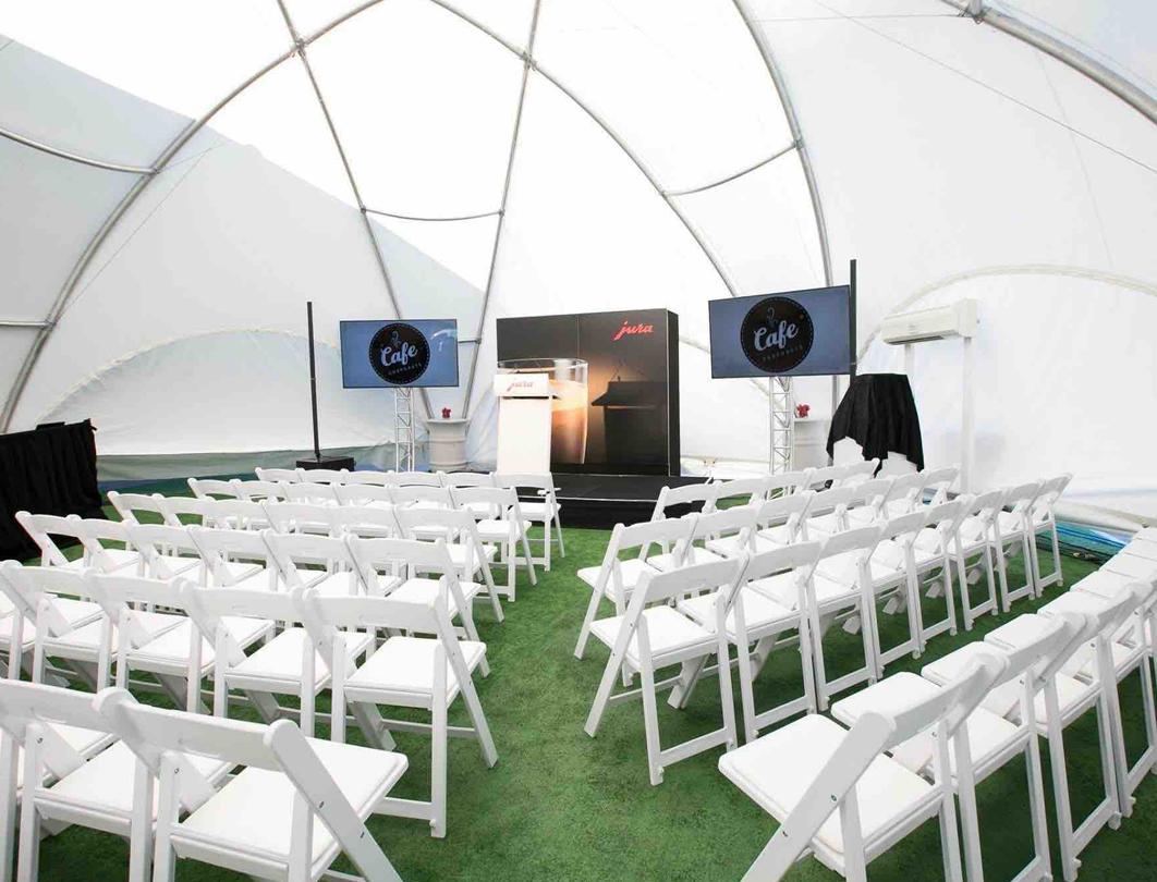 Hexadome Tent - meeting