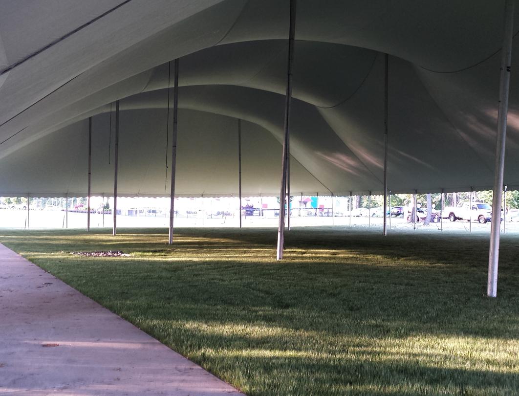 Fiesta Tent - interior