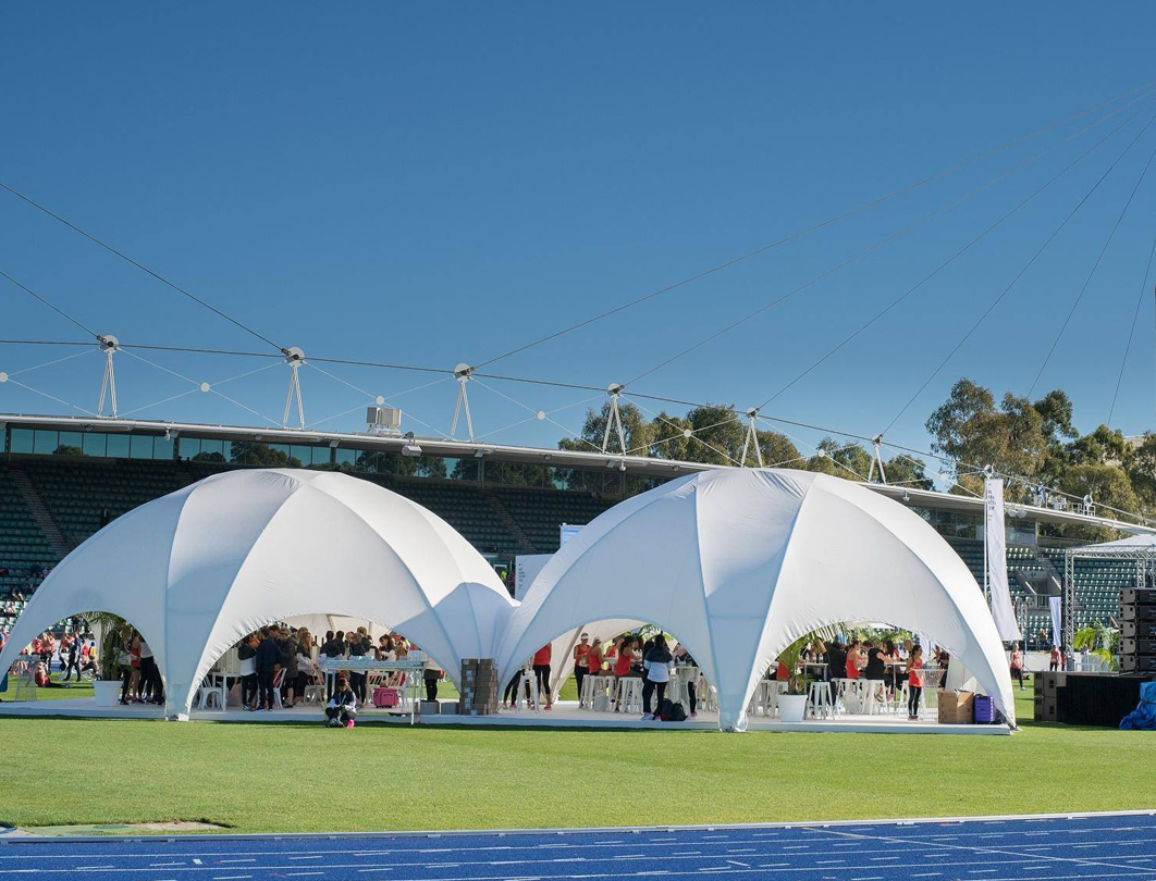 Hexadome Tent - sporting event