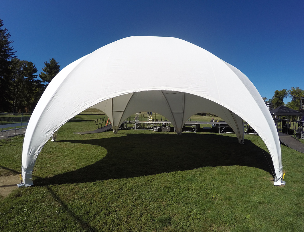 Hexadome Tent - entryway