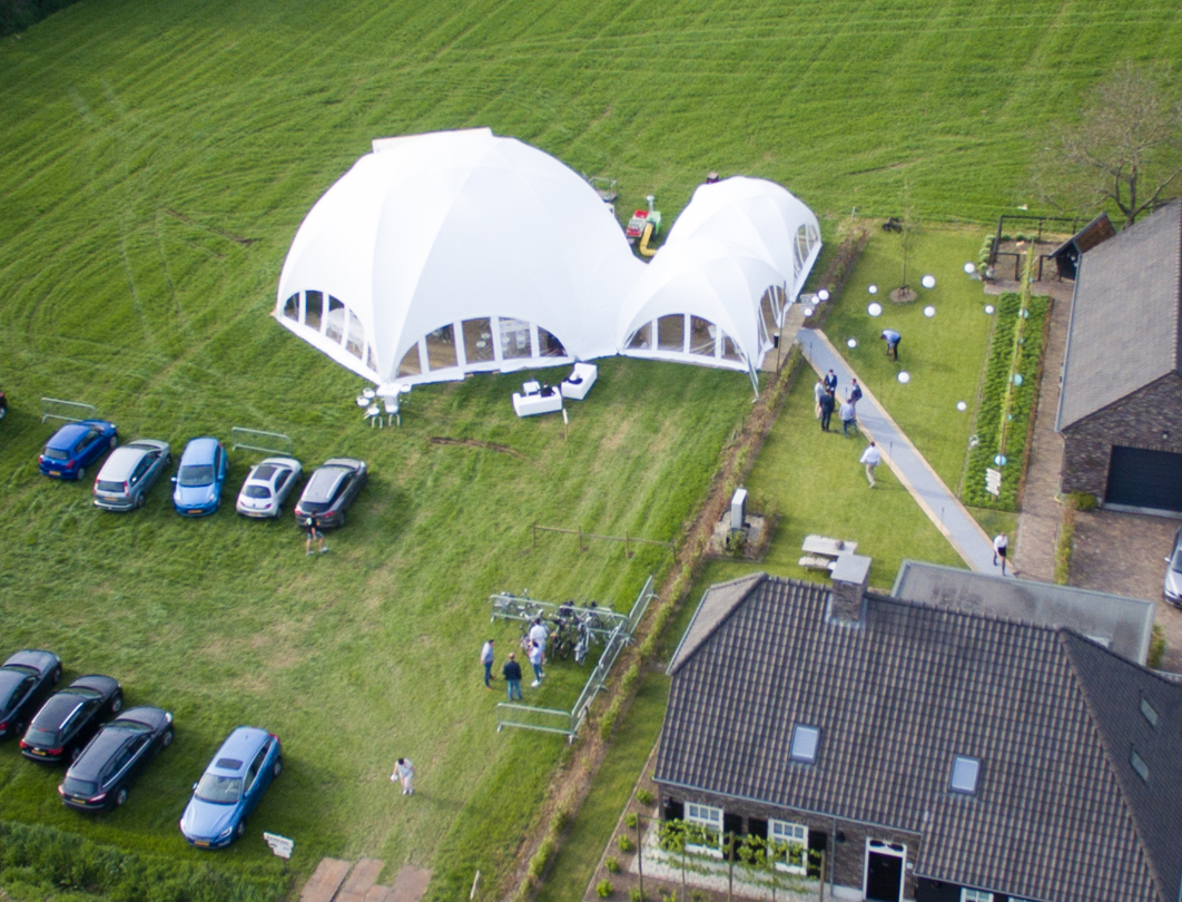 Hexadome Tent - private party